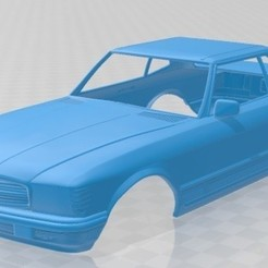 foto 1.jpg Download STL file Mercedes Benz SL 1972 Printable Body Car • Template to 3D print, hora80