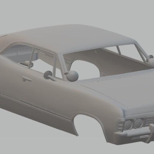 Download 3D printing templates Impala 1967 Printable Body Car, hora80