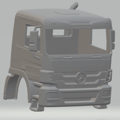 Descargar archivos 3D Mercedes Actros Printable Cabin Truck, hora80