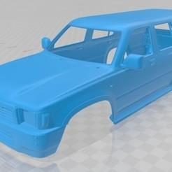 Descargar modelo 3D Toyota Runner 1989 Printable Body Car, hora80