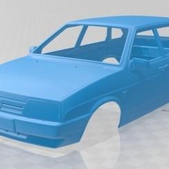foto 1.jpg Download STL file VAZ Lada 2109 1987 Printable Body Car • Design to 3D print, hora80