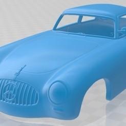 Mercedes Benz SL Class 1952-1.jpg Download STL file Mercedes Benz SL Class 1952 Printable Body Car • 3D printer design, hora80
