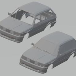Download STL file 525 Touring E30 Printable Body Car, hora80