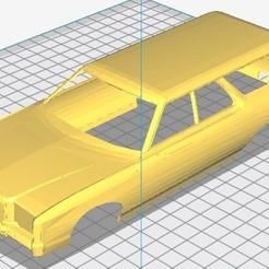 Impresiones 3D LTD 1977 Printable Body Car, hora80