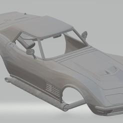 Descargar diseños 3D Stingray LT1 Printable Body Car, hora80