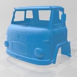 Descargar archivos 3D Scania Vabis LBS76 Printable Cabin Truck, hora80
