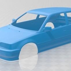 foto 1.jpg Download STL file Honda Civic hatchback 1987 Printable Body Car • Object to 3D print, hora80