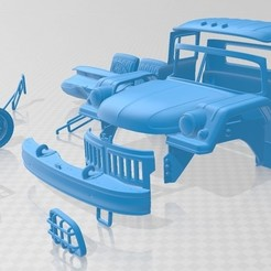 foto 1.jpg Download STL file ZiL 131 1966 Printable Truck • 3D printing template, hora80