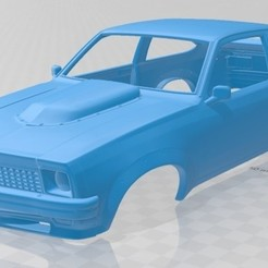 Descargar modelo 3D Holden Torana 1979 Printable Body Car, hora80