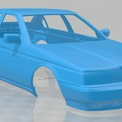 Alfa Romeo 164 1994-2.jpg Download STL file Alfa Romeo 164 1994 Printable Body Car • 3D printable template, hora80