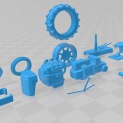 Descargar diseños 3D Farmall Printable Tractor, hora80