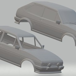 Download STL files Party XR2 Printable Body Car, hora80