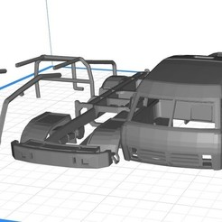Download 3D print files Kamaz Dakar Truck Printable 3D, hora80