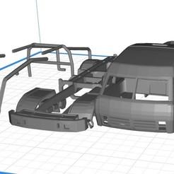 Descargar modelos 3D Kamaz Dakar Truck Printable 3D, hora80