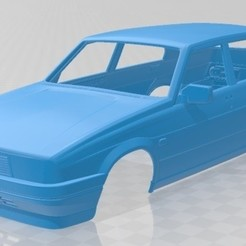 Download 3D printing templates Alfa Romeo 75 1985 Printable Body Car, hora80