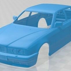 BMW 7 Series E32 1992-1.jpg Télécharger fichier STL 7 Series E32 1992 Printable Body Car • Design imprimable en 3D, hora80