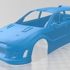 Impresiones 3D Focus Collin McRaes Printable Body Car, hora80