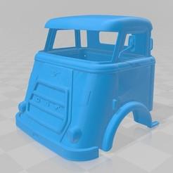 Imprimir en 3D DAF A1600 Printable Cabin Truck, hora80