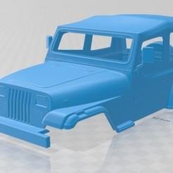 foto 1.jpg Download STL file Wrangler YJ 1987 Printable Body Car • Object to 3D print, hora80