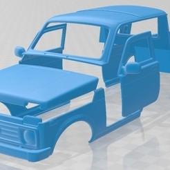 foto 1.jpg Download STL file Lada Niva Pickup 2015 Printable Body Car • 3D print design, hora80