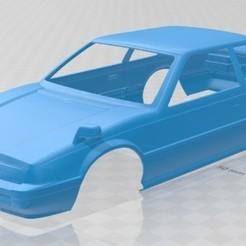Download 3D printer templates Honda Prelude 1983 Printable Body Car, hora80