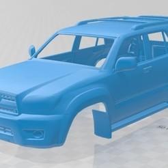 foto 1.jpg Download STL file Toyota 4Runner 2005 Printable Body Car • 3D print template, hora80