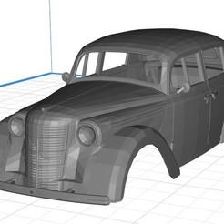 Télécharger modèle 3D Opel Kadett 1936 Carrosserie 3D imprimable, hora80