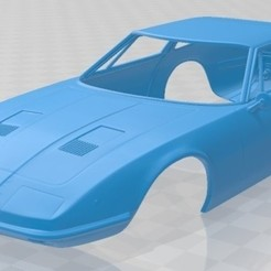 Maserati Indy 1969 - 1.jpg Download STL file Maserati Indy 1969 Printable Body Car • 3D printable design, hora80