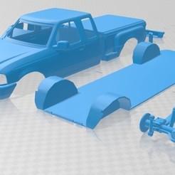 foto 1.jpg Download STL file Ranger XLT 1998 Printable Car • Design to 3D print, hora80