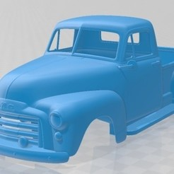 foto 1.jpg Download STL file 9300 Pickup 1952 Printable Body Car • 3D printable object, hora80