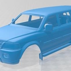 foto 1.jpg Download STL file Mitsubishi Pajero Sport 1996 Printable Body Car • 3D printer object, hora80