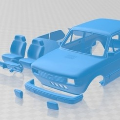 foto 1.jpg Download STL file Fiat 147 Printable Car • 3D printing design, hora80