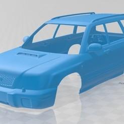 foto 1.jpg Télécharger fichier STL Subaru Forester S-Turbo 2000 Carrosserie imprimable • Objet imprimable en 3D, hora80