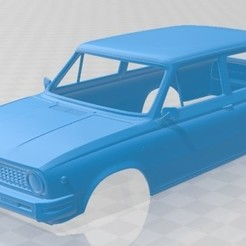 foto 1.jpg Télécharger fichier STL Volvo 66 Kombi 1975 Voiture à carrosserie imprimable • Objet à imprimer en 3D, hora80