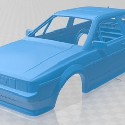 Descargar archivo 3D Volkswagen Scirocco 1986 Printable Body Car, hora80