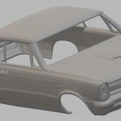 Télécharger STL Lemans GTO 1965 Véhicule carrossable imprimable, hora80