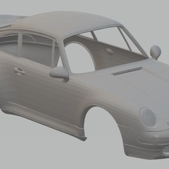 Descargar modelo 3D Porsche 993 Turbo Printable Body Car, hora80