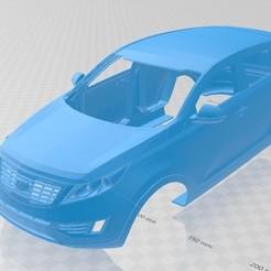 Descargar modelos 3D para imprimir Kia Sportage 2012 Printable Body Car, hora80