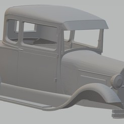 Descargar STL Model A Printable Body Car, hora80