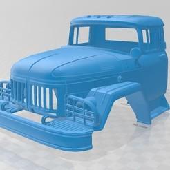 Descargar archivos 3D International Flatbed Printable Cabin Truck, hora80