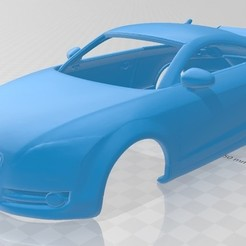 Descargar modelo 3D Audi TT Printable Body Car, hora80