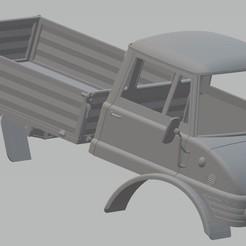 Télécharger fichier 3D Mercedes Unimog 406 Camion imprimable, hora80