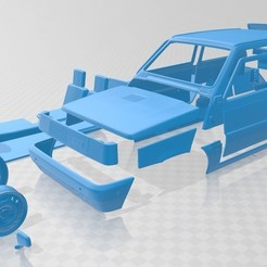 Download 3D model Fiat Panda 30 1980 Printable Car, hora80