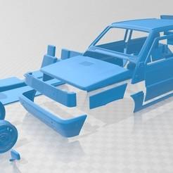 Descargar modelo 3D Fiat Panda 30 1980 Printable Car, hora80