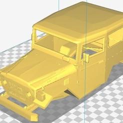 Download 3D printing files Toyota BJ-40 Printable Body Car, hora80