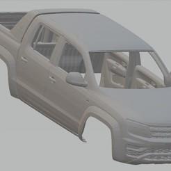 Descargar archivos 3D Volkswagen Amarok Printable Body Car, hora80