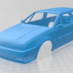 foto 1.jpg Télécharger fichier STL Volvo 480 1986 Voiture à carrosserie imprimable • Objet à imprimer en 3D, hora80