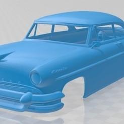 foto 1.jpg Télécharger fichier STL Lincoln Capri Hardtop Coupé 1955 Carrosserie imprimable • Plan à imprimer en 3D, hora80