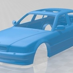 foto 1.jpg Download STL file Series 7 1998 Printable Body Car • 3D printable object, hora80