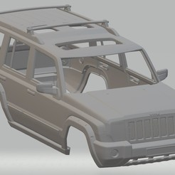 Télécharger STL Carrosserie imprimable Jeep Cherokee, hora80